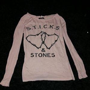 Sticks & Stones Long Sleeve Tee